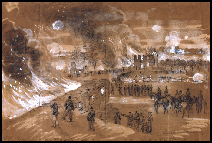 the statistics and details of the bloody battle of antietam union During the battle of antietam, union and confederate soldiers fought in many different areas of antietam at many different times one of these particular battles was fought at a place called sunken road or bloody lane.