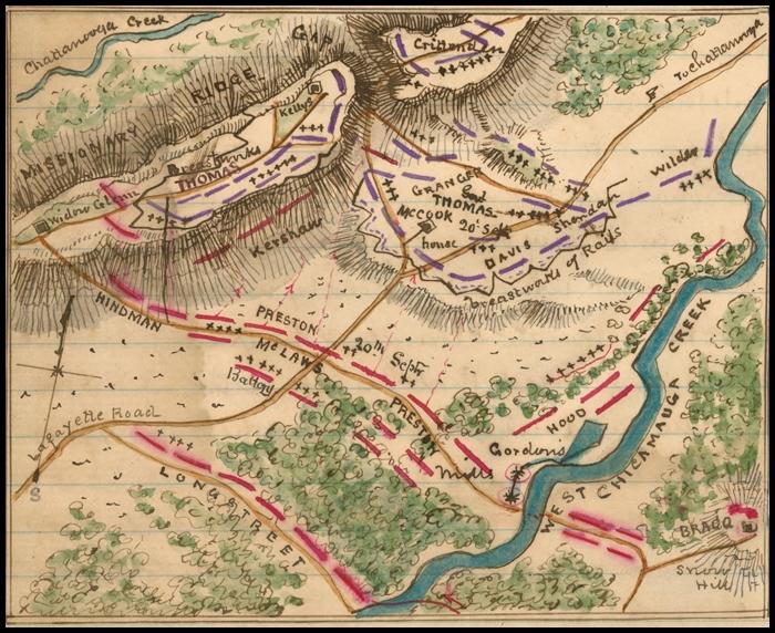 Chickamauga - Chickamauga on us map